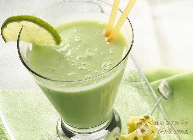 молоко с авокадо
