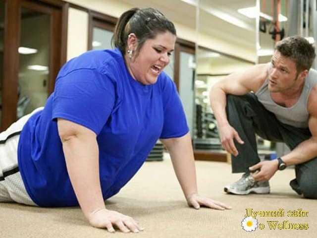 Фитнес полезен даже бес снижения веса