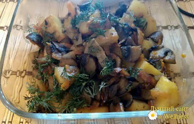 как приготовить овощное рагу с шампиньонами, пошаговый рецепт с фото