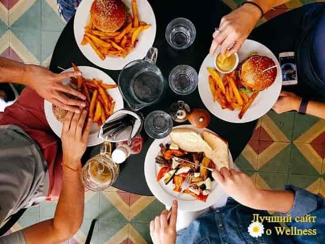 Правильное пищевое поведение человека, связанное с возрастом, ФОТО