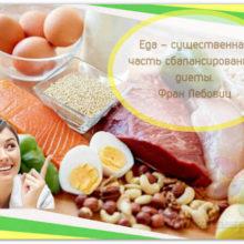 Сбалансированное питание от экспертов ВОЗ