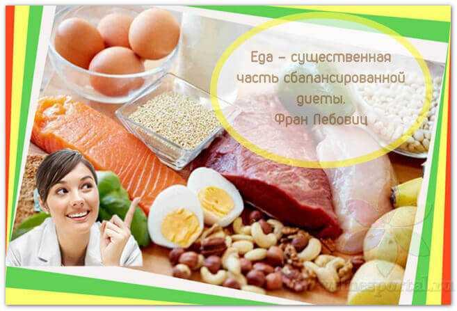 Как легко сбалансировать свое питание