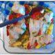 Рыба по-гречески с картофелем, запеченная в духовке, рецепт с фото