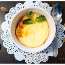 Порционная творожная запеканка с яблоками — рецепт