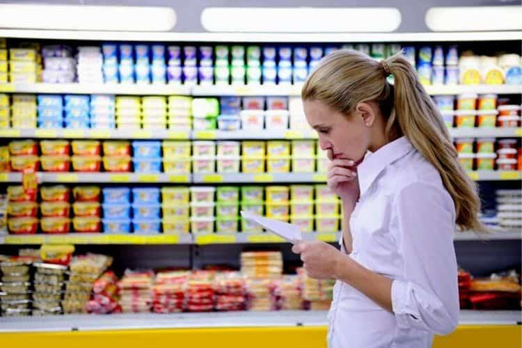 Список продуктов для здорового питания, фото